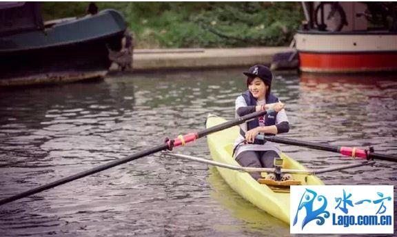 跟着花少团剑桥学赛艇